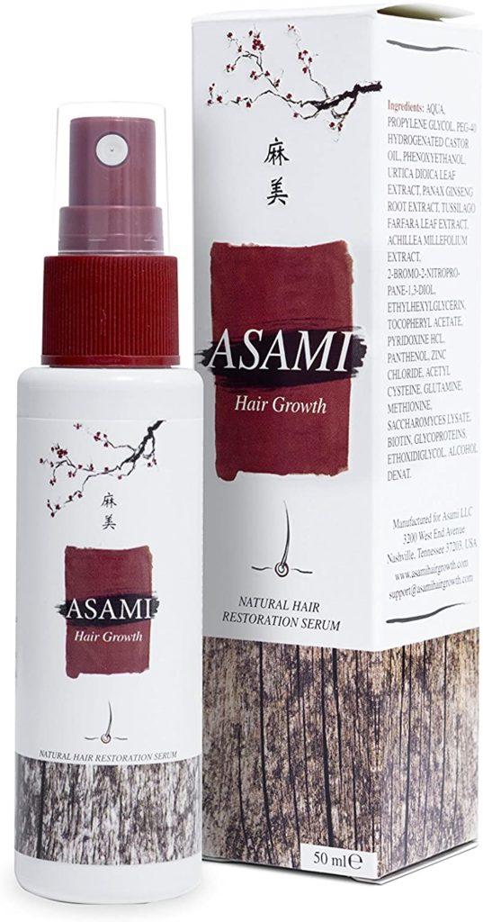Asami Hair Growth aplikácia
